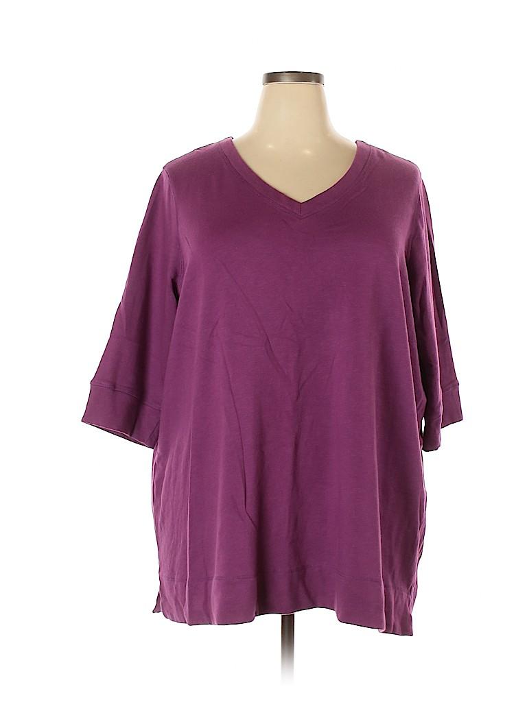 Avenue Women Sweatshirt Size 30 - 32 Plus (Plus)
