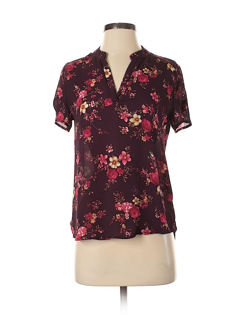 Unbranded Women Short Sleeve Blouse Size XS