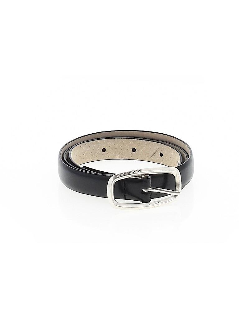 AK Anne Klein Women Leather Belt Size M