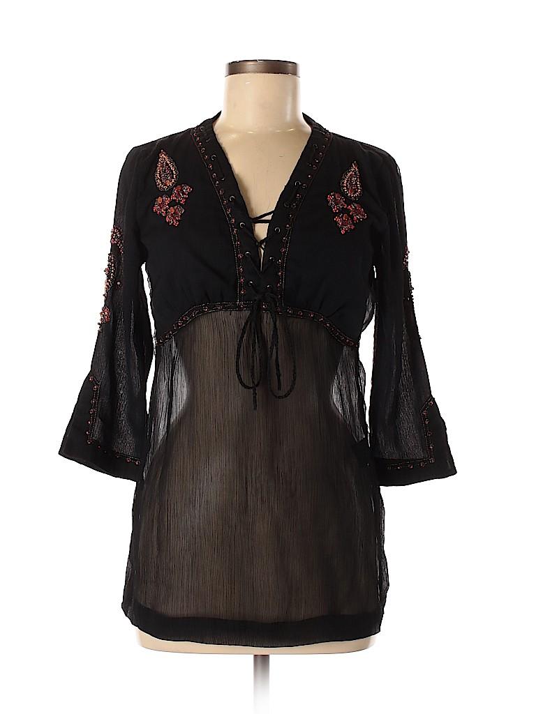 Mixit Women 3/4 Sleeve Blouse Size S