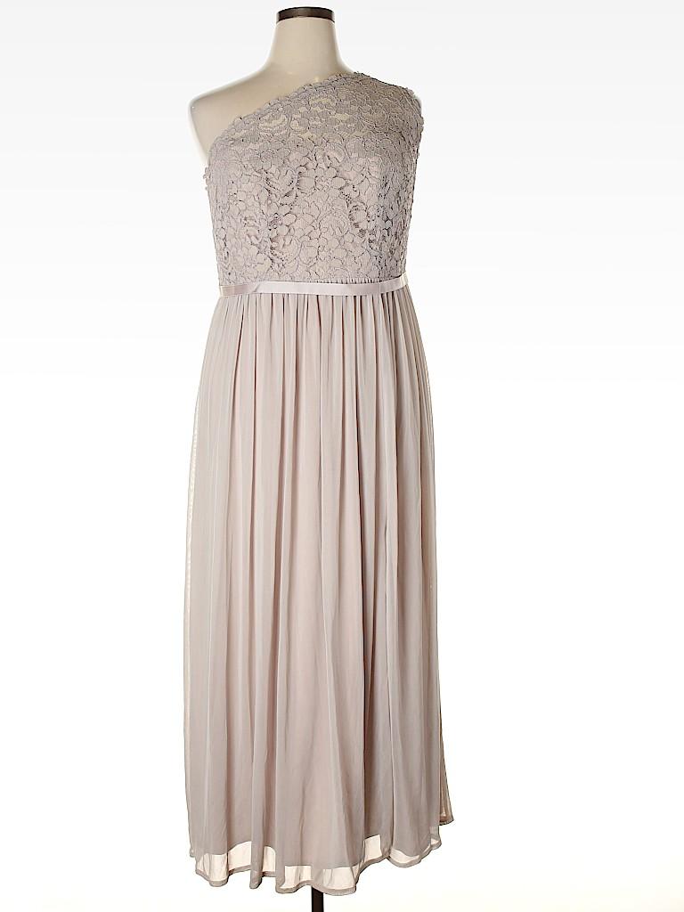 David's Bridal Women Cocktail Dress Size 16