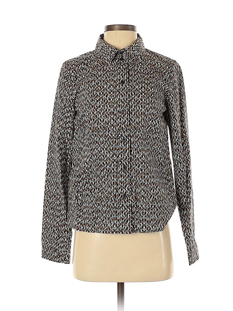 Cos Women Long Sleeve Button-Down Shirt Size 4