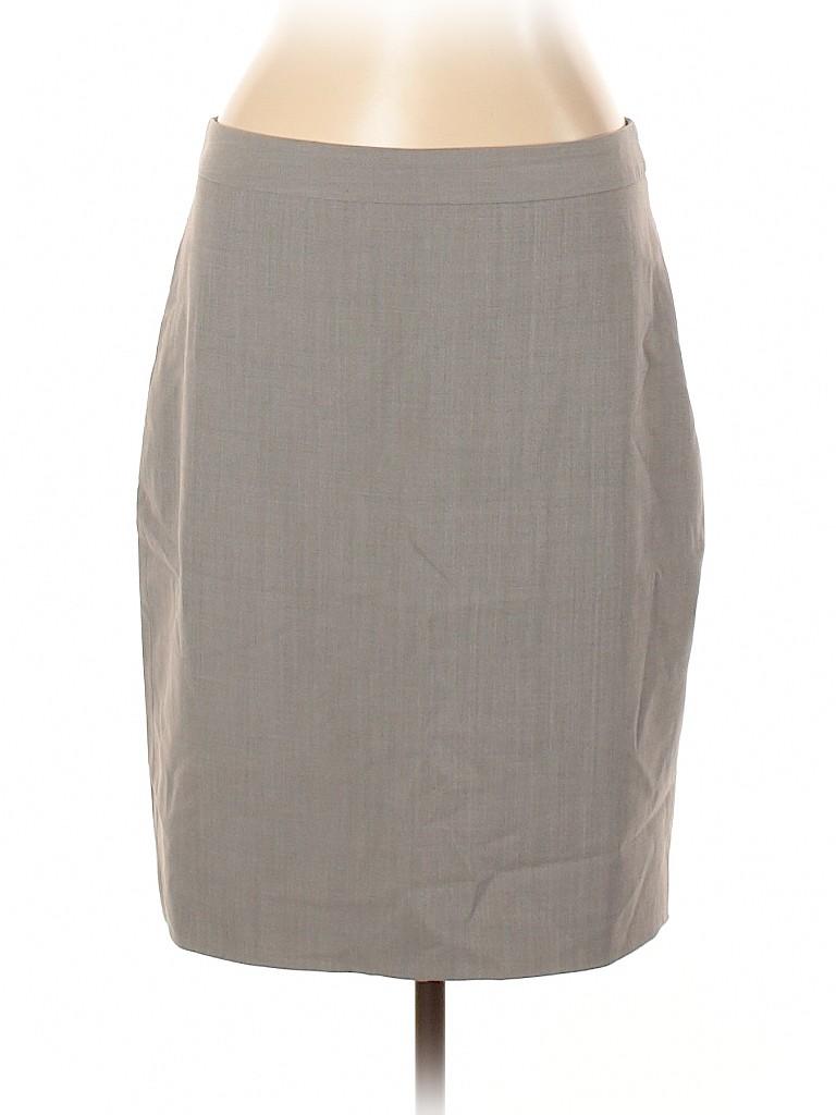 Banana Republic Women Wool Skirt Size 12