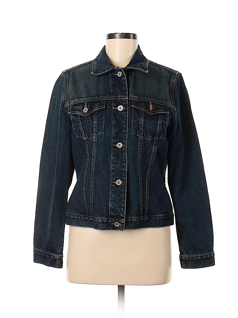 Eddie Bauer Women Denim Jacket Size M
