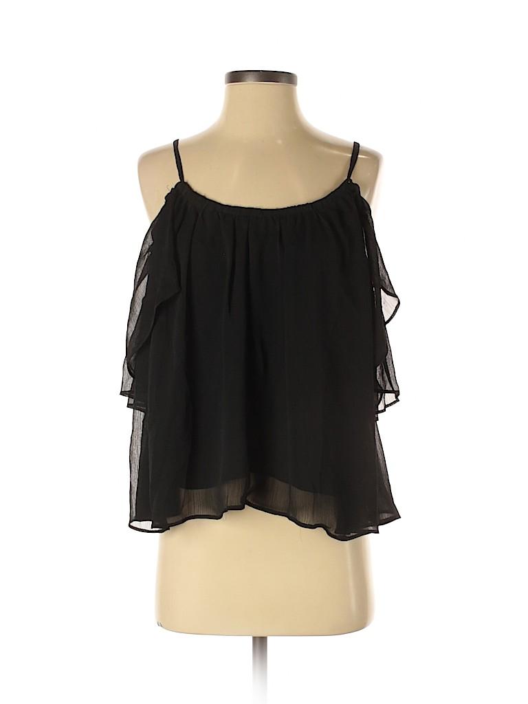 Solemio Women Short Sleeve Blouse Size S