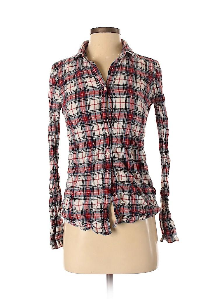 J. Crew Women Long Sleeve Button-Down Shirt Size 0