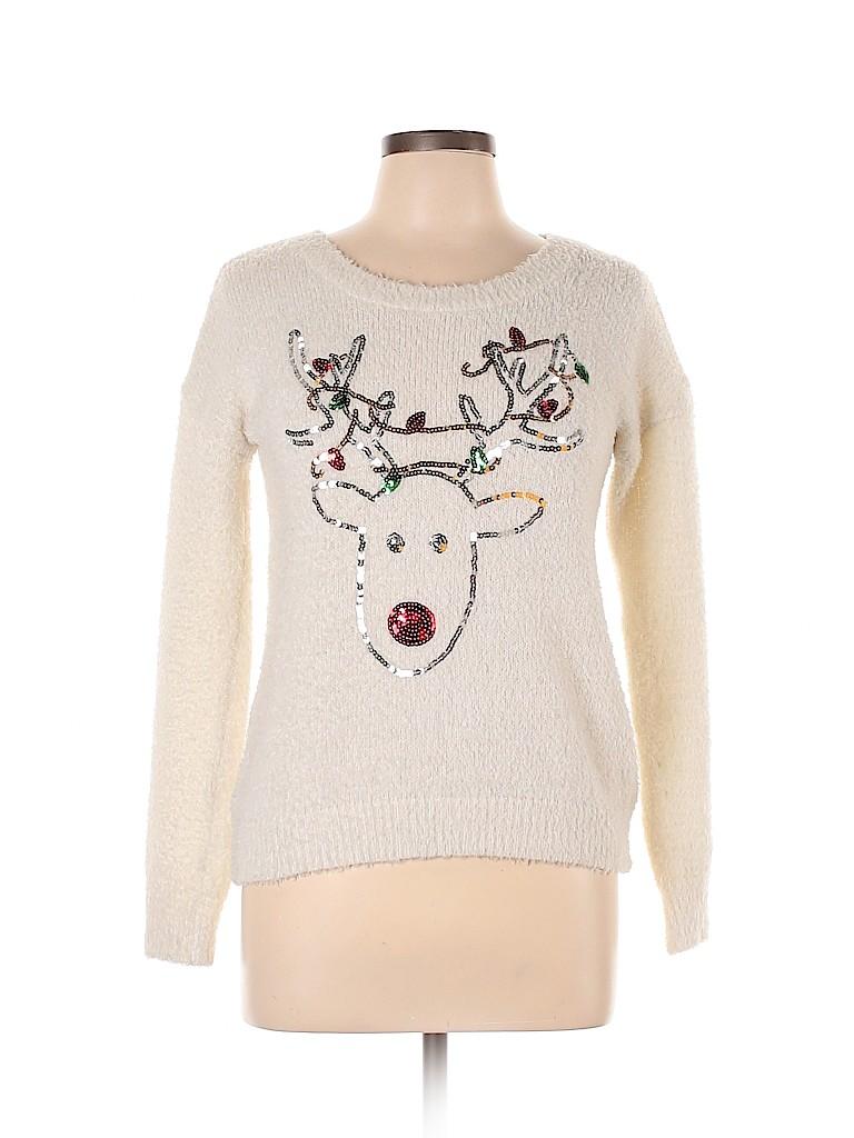 No Boundaries Women Pullover Sweater Size M