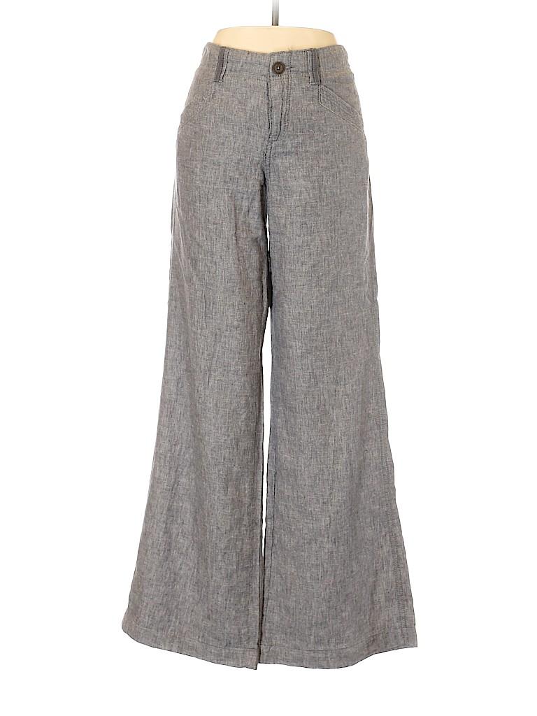 Pilcro and The Letterpress Women Linen Pants Size 9