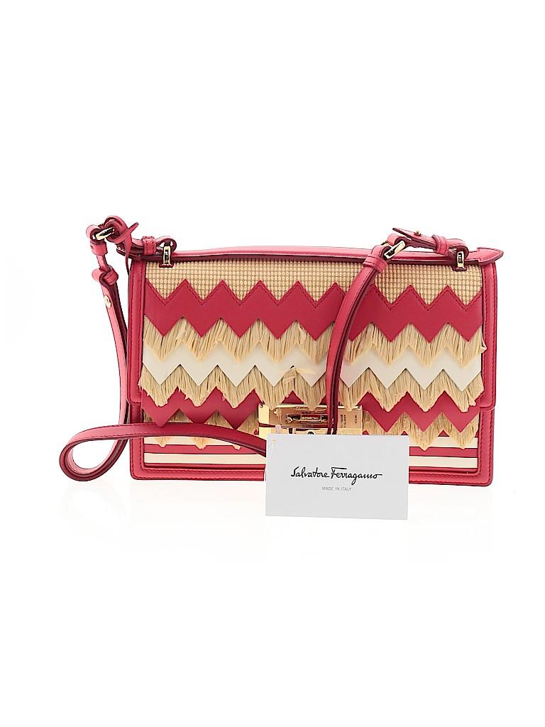 Salvatore Ferragamo Women Leather Shoulder Bag One Size