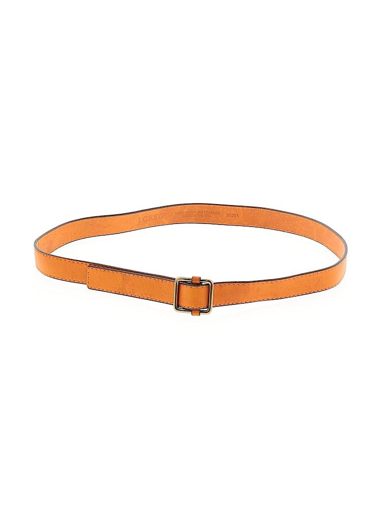 J. Crew Women Leather Belt Size Sm - Med