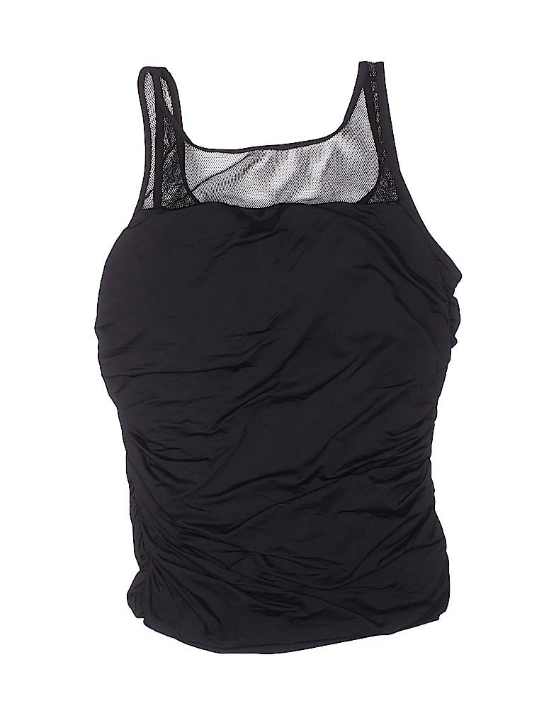 Badgley Mischka Women Swimsuit Top Size 12