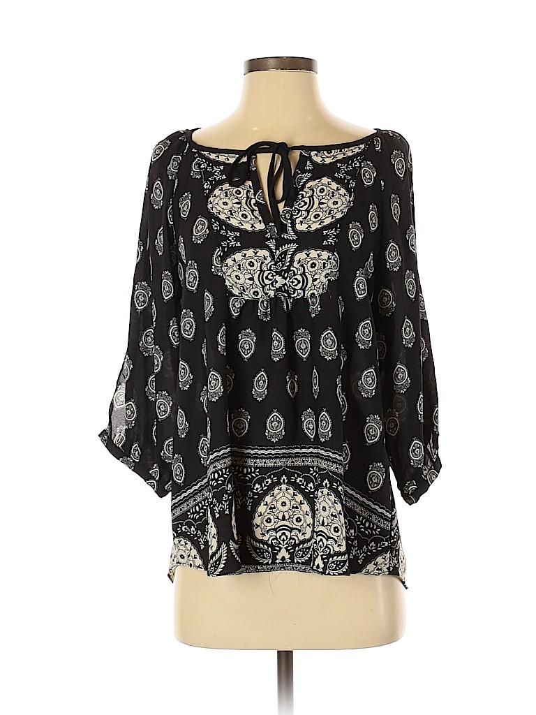 A. Byer Women 3/4 Sleeve Blouse Size M