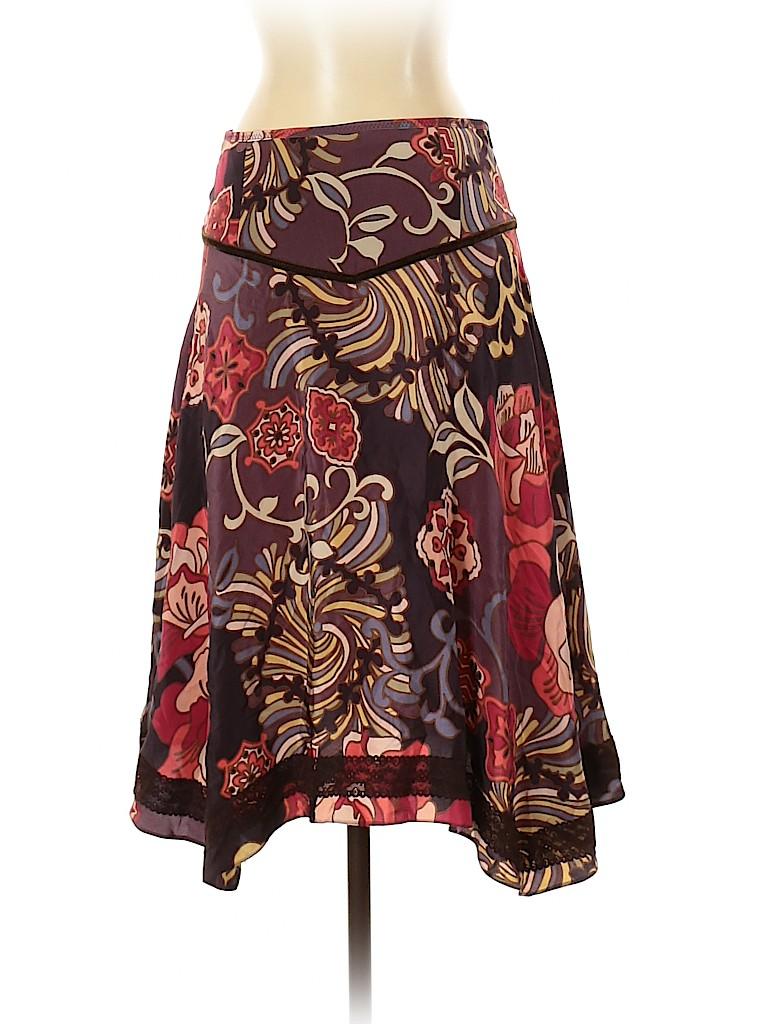 Karen Millen Women Silk Skirt Size 4