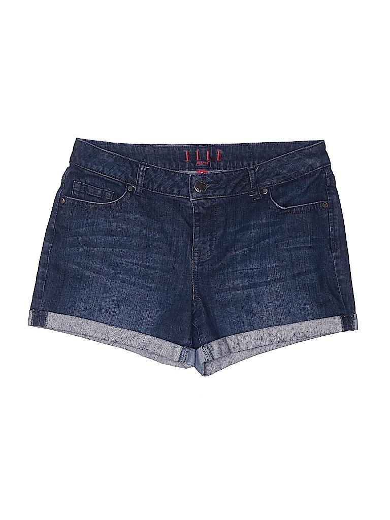 Elle Women Denim Shorts Size 10