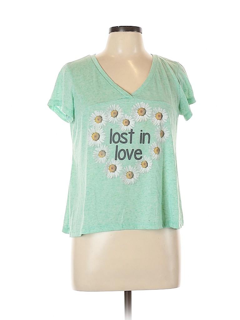 Rue21 Women Short Sleeve T-Shirt Size XL