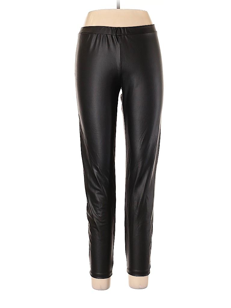 G by GUESS Women Faux Leather Pants Size XL