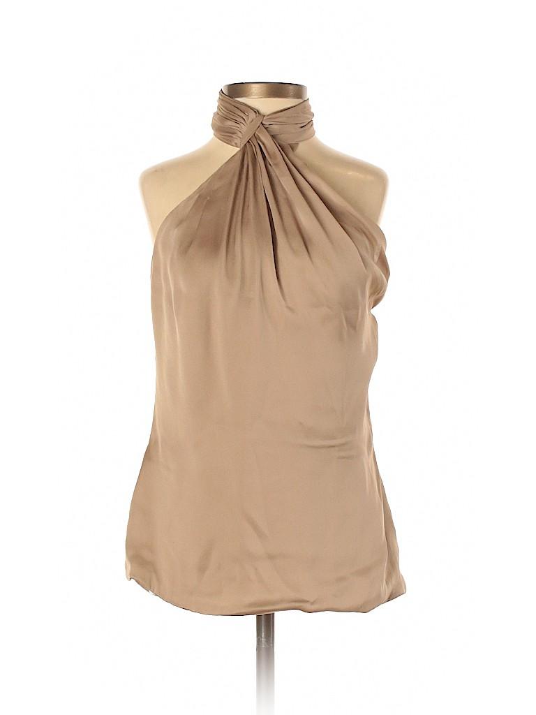 Ralph Lauren Collection Women Sleeveless Silk Top Size 2