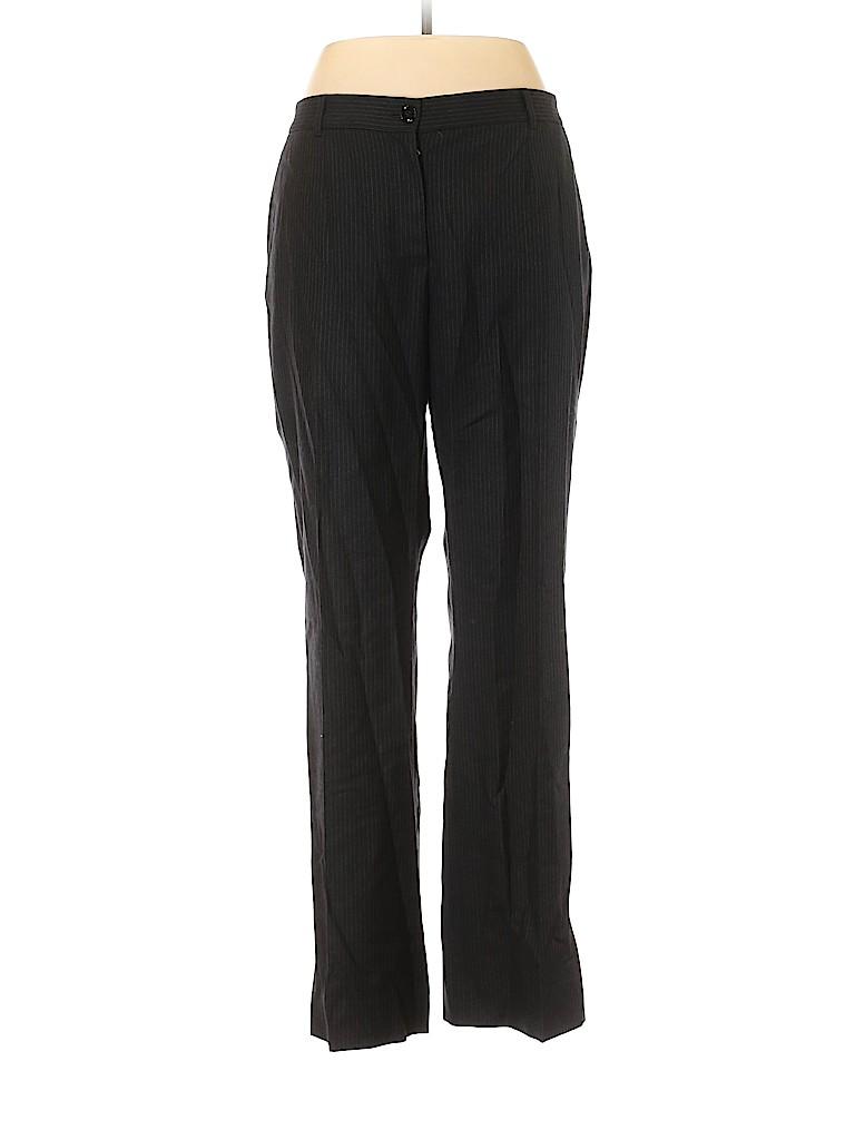 Dolce & Gabbana Women Wool Pants Size 48 (IT)