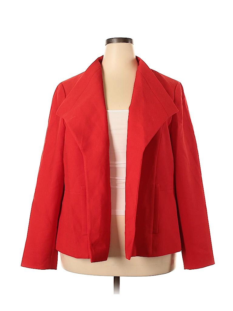 Talbots Women Blazer Size 20 (Plus)