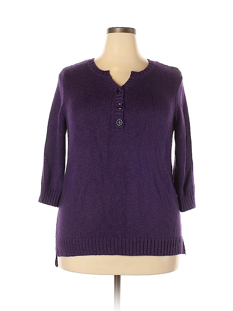 DressBarn Women Pullover Sweater Size 1X (Plus)