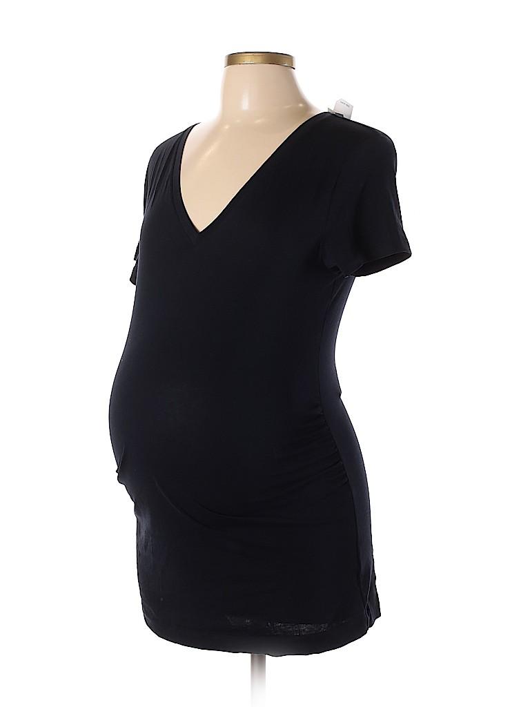 Gap - Maternity Women Short Sleeve T-Shirt Size L (Maternity)