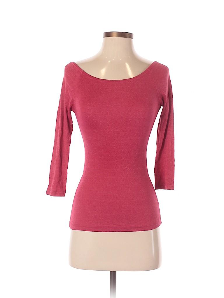 Michael Stars Women 3/4 Sleeve T-Shirt Size Fits most women