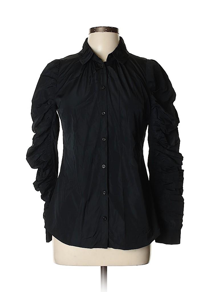 ALLSAINTS Spitalfields Women Long Sleeve Blouse Size 12