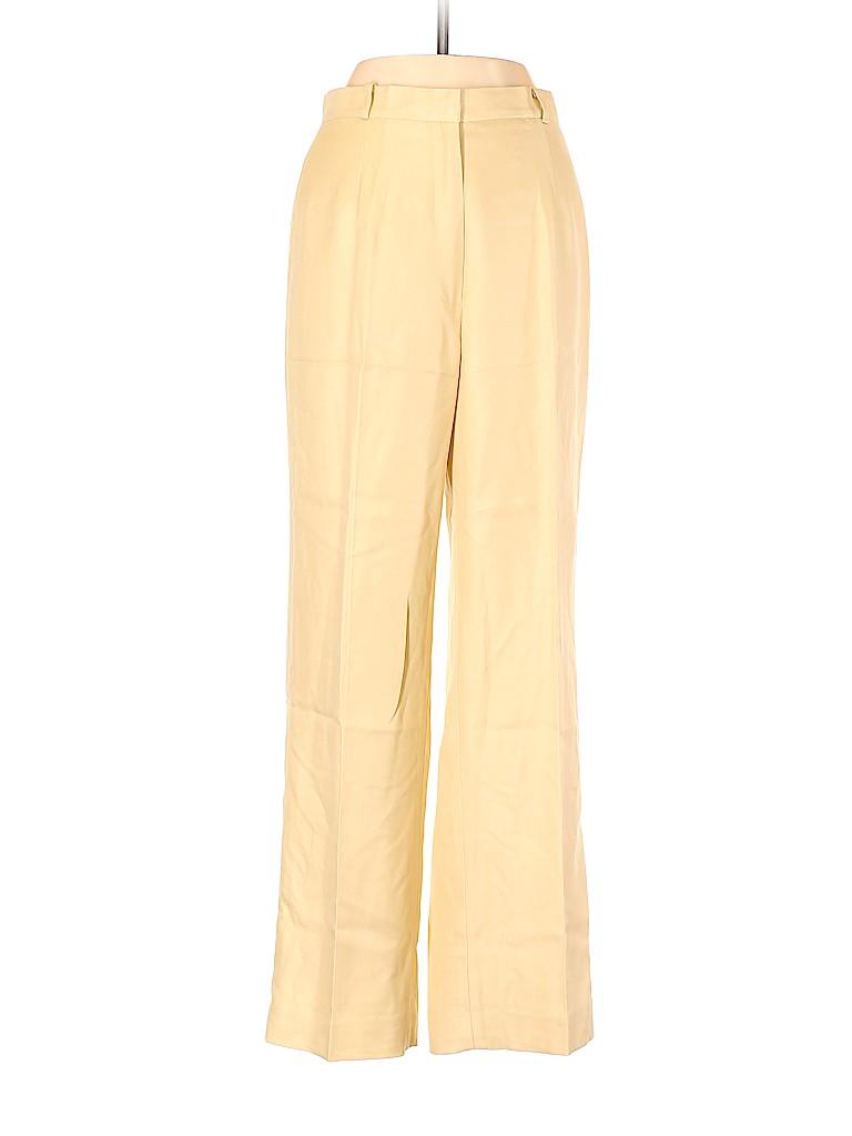 Talbots Women Silk Pants Size 4 (Petite)