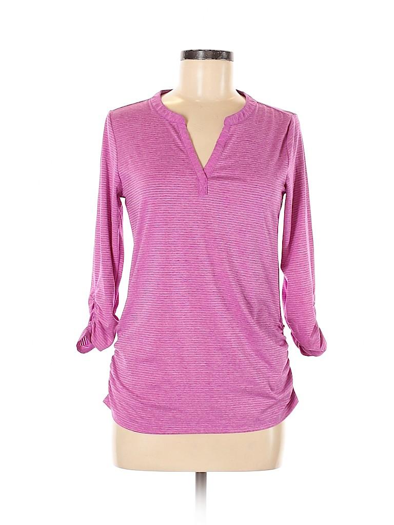 Eddie Bauer Women Active T-Shirt Size S
