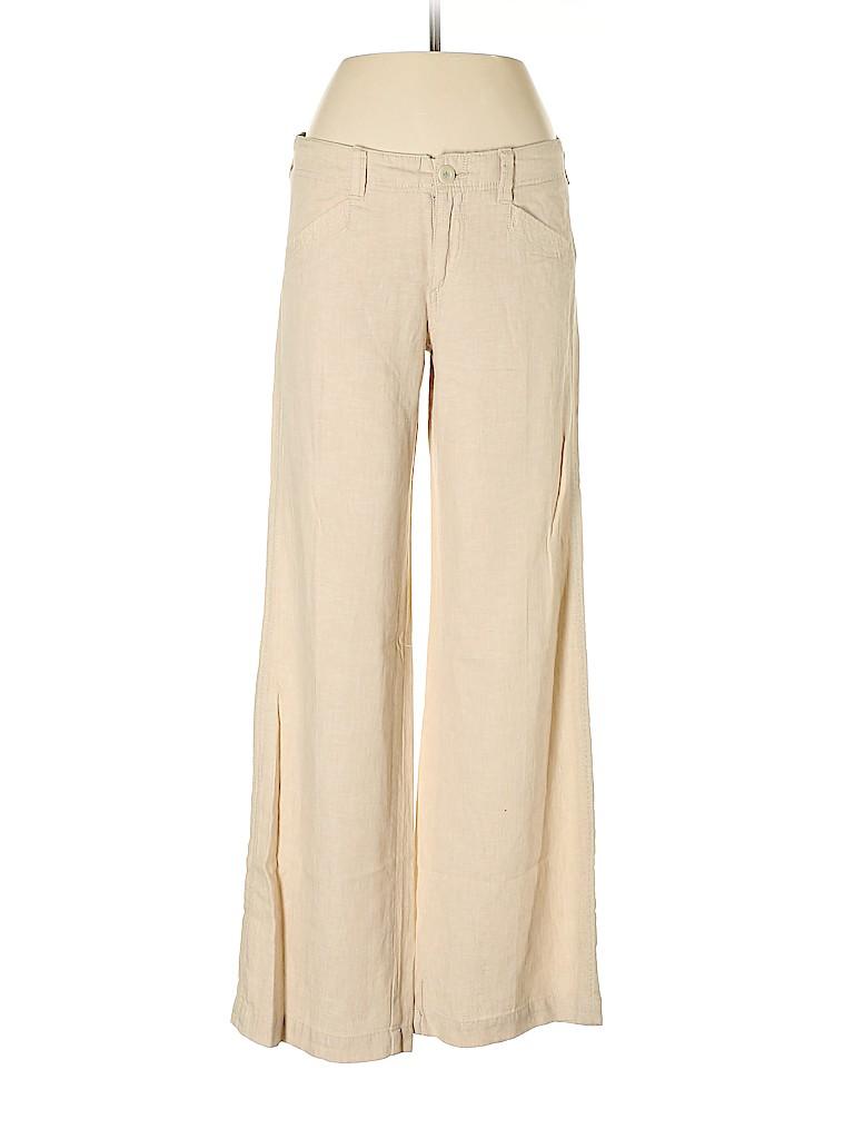 Pilcro and The Letterpress Women Linen Pants Size 6