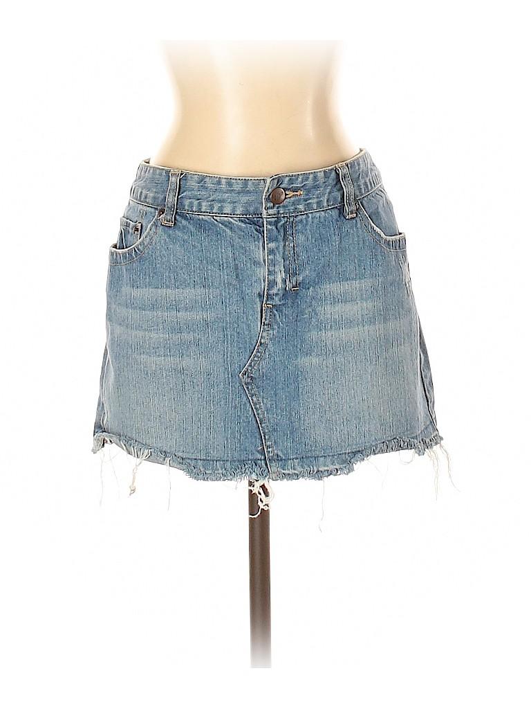 Aeropostale Women Denim Skirt Size 7 - 8