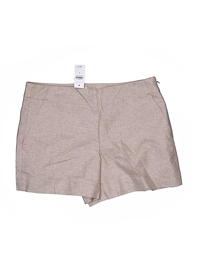 Ann Taylor LOFT Women Dressy Shorts Size 4