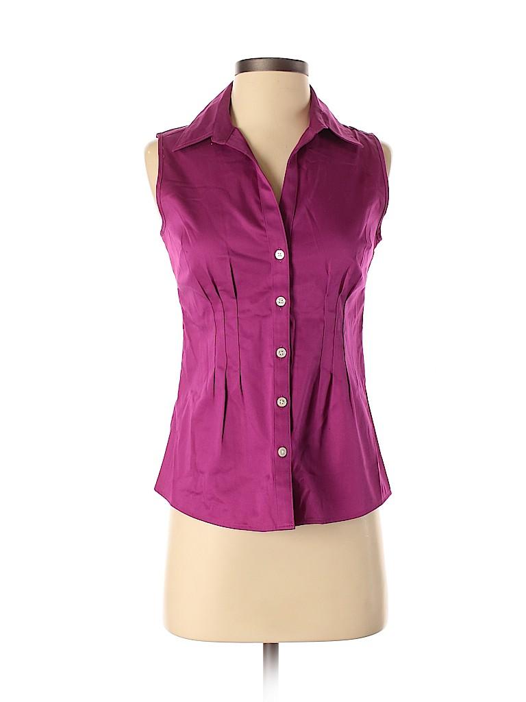 Banana Republic Factory Store Women Sleeveless Button-Down Shirt Size XS
