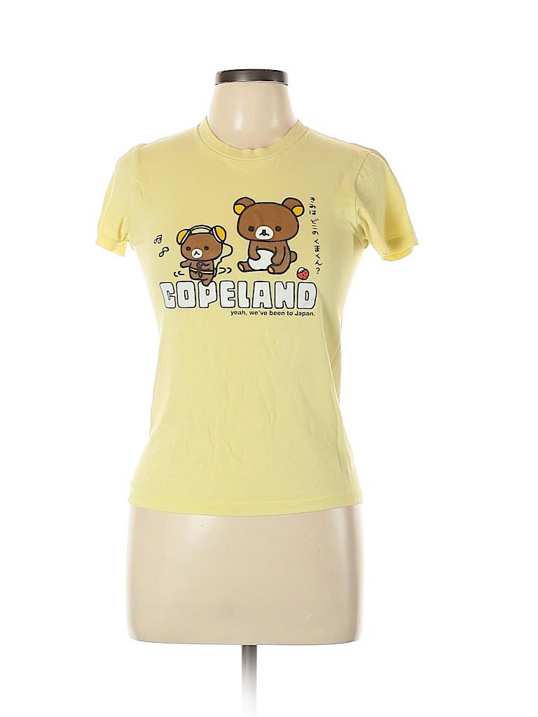 American Apparel Women Short Sleeve T-Shirt Size L