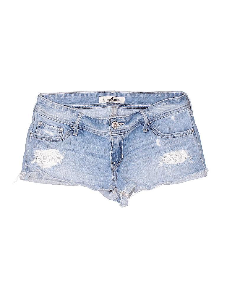 Hollister Women Denim Shorts Size 5