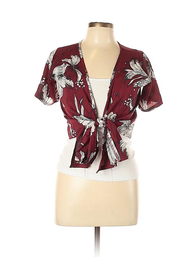 Unbranded Women Short Sleeve Blouse Size XL
