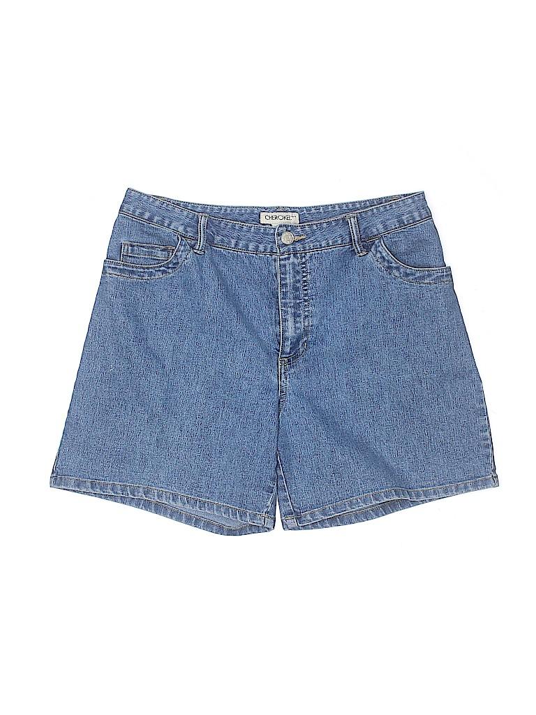 Cherokee Women Denim Shorts Size 8