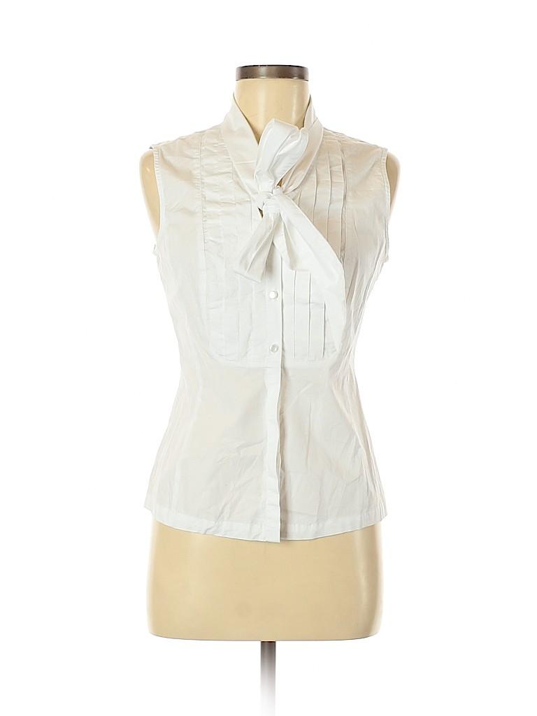 Spiegel Women Sleeveless Button-Down Shirt Size 10