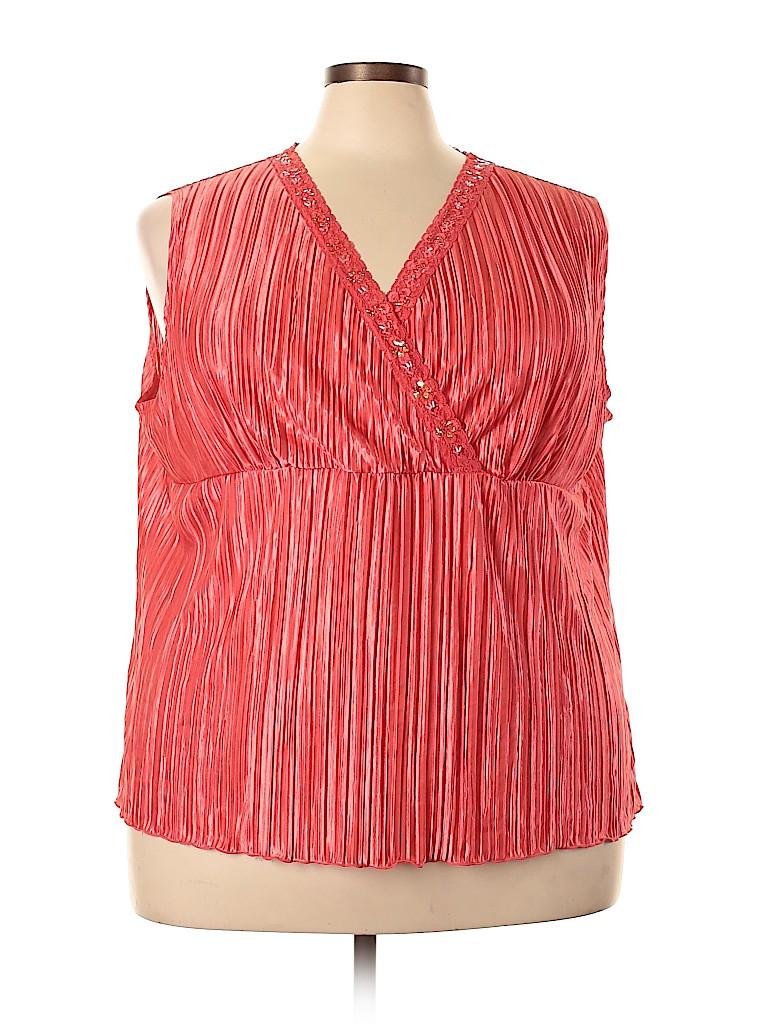 Cato Women Short Sleeve Blouse Size 22 - 24W (Plus)