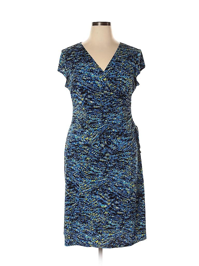 Evan Picone Women Casual Dress Size 16
