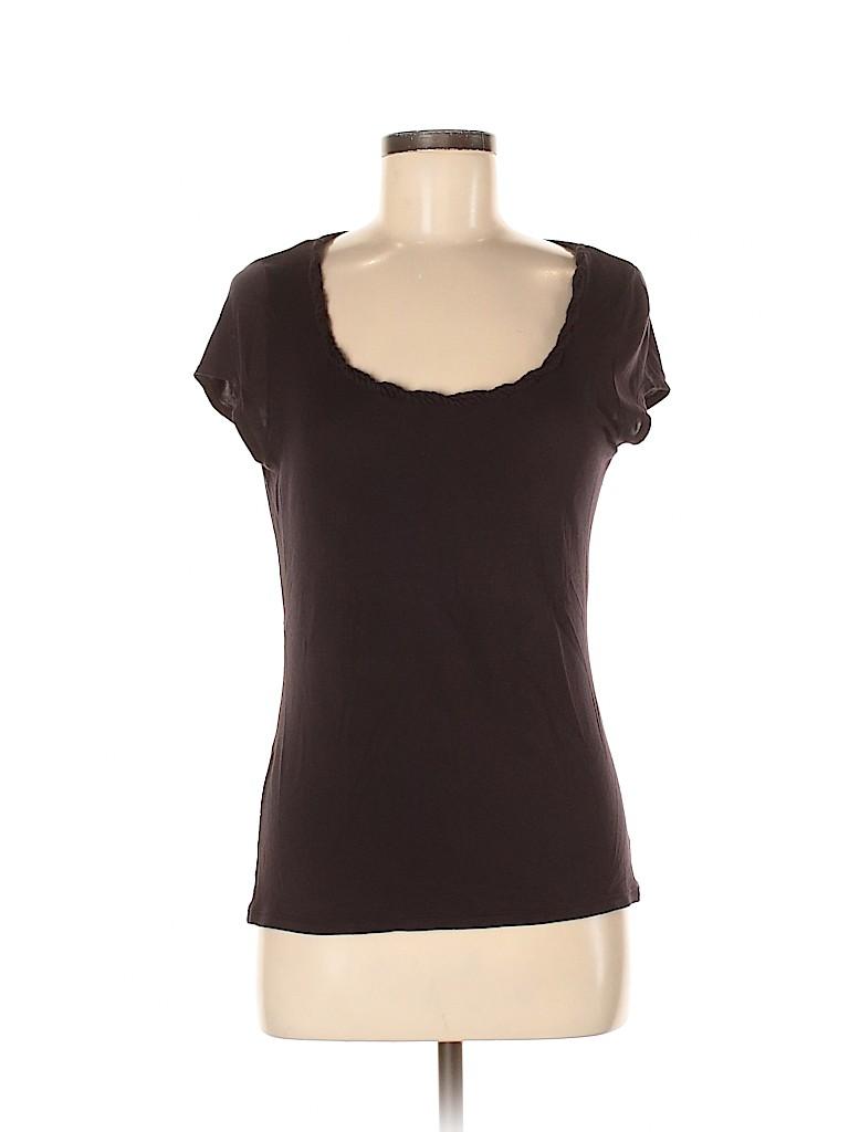 Elie Tahari Women Short Sleeve Top Size M