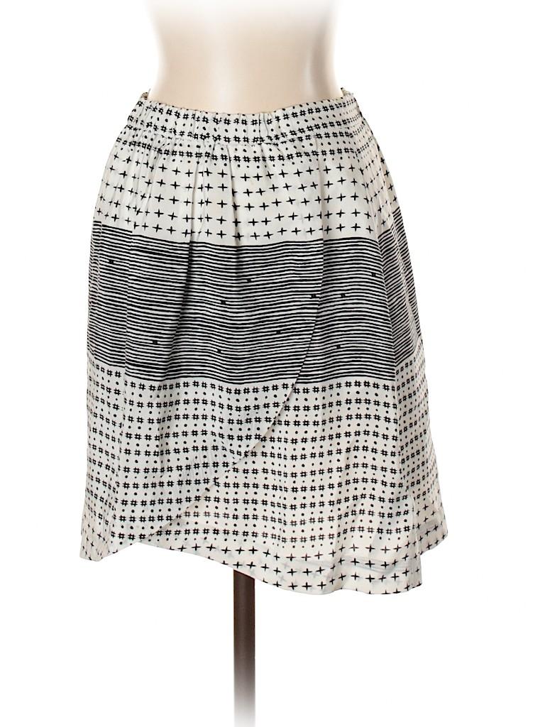 Madewell Women Silk Skirt Size XS
