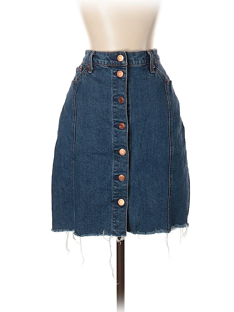 Gap Women Denim Skirt 27 Waist