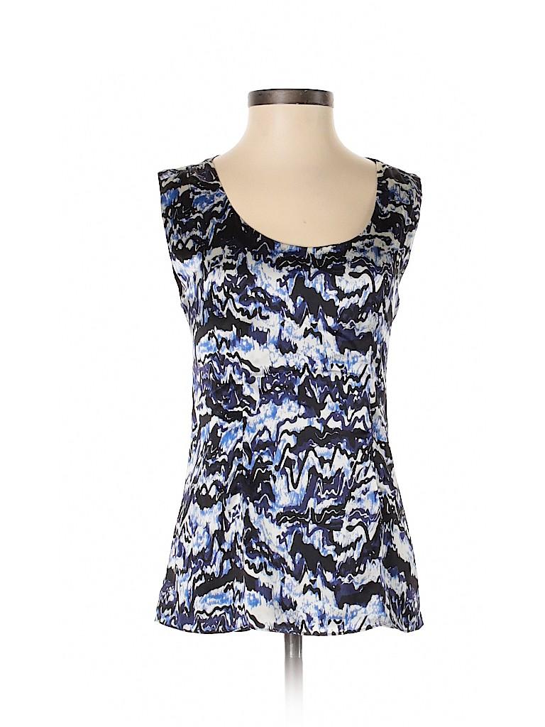 Balenciaga Women Sleeveless Silk Top Size 38 (IT)