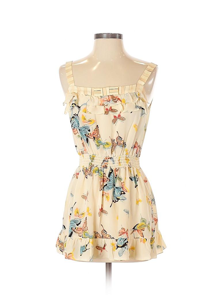 Nanette Lepore Women Sleeveless Silk Top Size 2