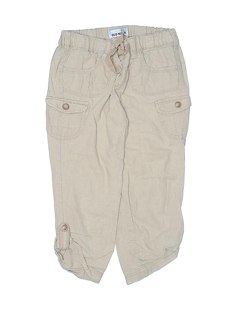 Old Navy Girls Linen Pants Size L (Kids)