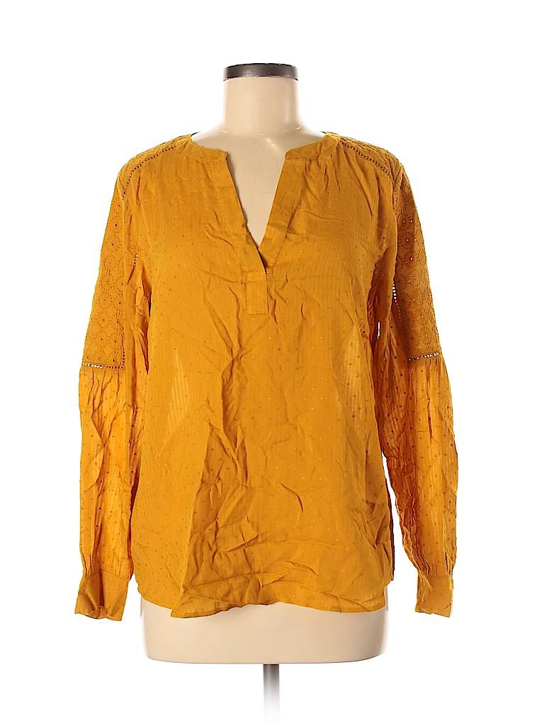 Ann Taylor LOFT Women Long Sleeve Blouse Size M