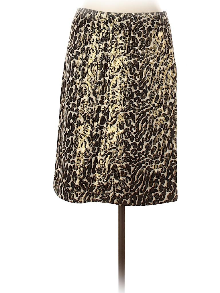 Tory Burch Women Silk Skirt Size 10