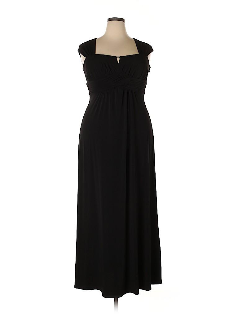 Sangria Women Cocktail Dress Size 14 (Petite)