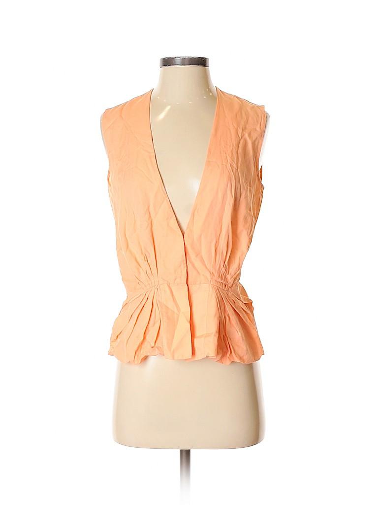 Diane von Furstenberg Women Short Sleeve Top Size 2